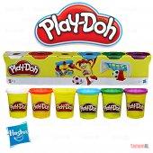 Play Doh Hasbro (Gerçek Marka) Oyun Hamuru 6 Renk ...