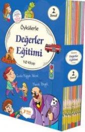 2.sınıf Öykülerle Değerle Eğitimi 10 Hikaye Kitap Seti Renkli