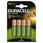 Duracell Aa Recharge Şarjlı Pil 4 Adet 1300 Mah...