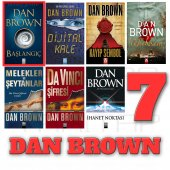 Dan Brown 7 Kitap Set Başlangıç + Davinci...