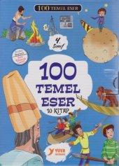 4.SINIFLAR İÇİN 100 TEMEL ESER HİKAYE MASAL KİTAP SETİ TAKIM KUTU-2