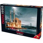 1000 Parça Puzzle Yapboz 48x66 3171 Ortaköy Cami N...