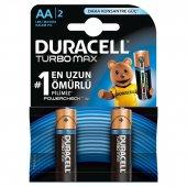 Duracell Turbo Max En Uzun Ömürlü Aa Kalem Pil 2li Extra Güç