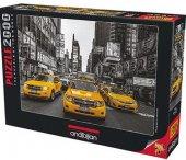 2000 Parça Puzzle Yapboz 66x96 3938 New York Texi...