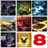 Harry Potter 8 Kitap Tam Takım Roman Seti Türkçe Çeviri Kitaplar