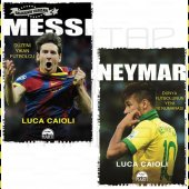 Messi Ve Neymar 2 Kitap Set Futbol Galaksinin Yıldızları