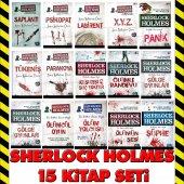 Sherlock Holmes 15 Kitap Aksiyon Roman Seti Tutku Tam Seri Takım
