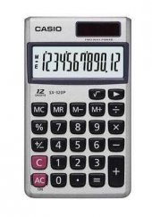 Casio Sx 320p W 12 Hane Cep Hesap Makinesi Güneş Enj4971850172604