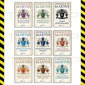Taht Oyunları George R.r. Martin 9 Kitap Set Epsilon