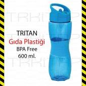 TRİTAN tupperware GIDA PLASTİĞİ 0 BPA FREE MATARA 600ML. GLOBOX