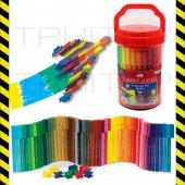Faber Castell Eğlenceli Keçeli Kalem 50 Renk Kavanoz9311279115083