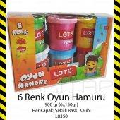 LETS 6 RENK OYUN HAMURU 900GR L8350 PLAY DOUGH 8680679800273-5