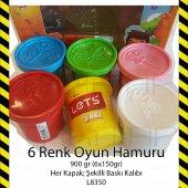 LETS 6 RENK OYUN HAMURU 900GR L8350 PLAY DOUGH 8680679800273-9
