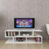 Moonlife Kelebek Tv Sehpası Beyaz