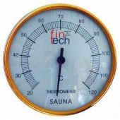 Sauna Termometresi Plastik Termometre Fıntech