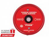 Yangın İkaz İhbar Ve Uyarı Butonu Düğmesi (Yuvarlak Model)