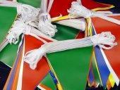 Bayrak Kırlangıç Üçgen 25 Mt Karışık Renk