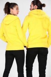 Sevgili Kombinleri Kalın 3 İPLİK Sweatshirt Kanguru Cep-Fermuarlı-3