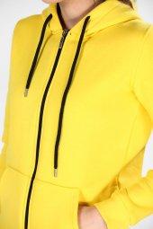 Sevgili Kombinleri Kalın 3 İPLİK Sweatshirt Kanguru Cep-Fermuarlı-4