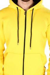 Sevgili Kombinleri Kalın 3 İPLİK Sweatshirt Kanguru Cep-Fermuarlı-5