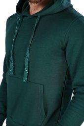 Sevgili Kombinleri Yeşil Sweatshirt Basic 3 İPLİK Kalın Kumaş-5