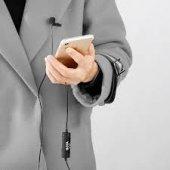 Iphone 8, Iphone 8 Plus, Iphone X İçin BY-MD1 Yaka Mikrofonu-6