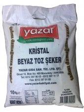 Yazar Toz Şeker Kırıstal Pancar Ankara Şekeri 10kg