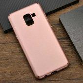 Samsung Galaxy A8 2018 Kılıf Olix 3A Rubber Kapak -10