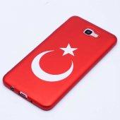 Samsung Galaxy J7 Prime Kılıf Olix Bayrak...