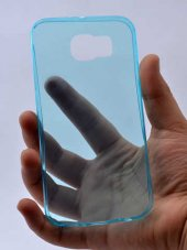 Samsung Galaxy S7 Plus Ultra İnce Silikon Kapak 0 2 mm