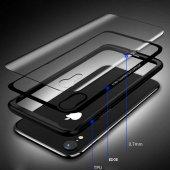 Apple iPhone XS Max 6 5 Kılıf Olix Eğimli Craft Cam Kapak -3