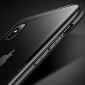 Apple iPhone XS Max 6 5 Kılıf Olix Eğimli Craft Cam Kapak -8