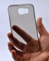 Samsung Galaxy S7 Plus Ultra İnce Silikon Kapak 0 2 mm -7