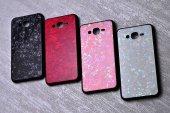 Samsung Galaxy J7 Kılıf Olix Marbel Cam Silikon -2