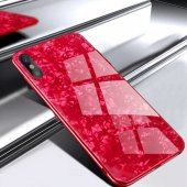 Apple İphone Xs 5 8 Kılıf Olix Marbel Cam...