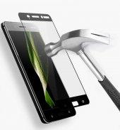 Nokia 3 Ekranı Tam Kaplayan Düz Cam Koruyucu