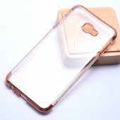 Samsung Galaxy J4 Plus Kılıf Olix Tek Sıra Taşlı Silikon -6