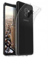 Samsung Galaxy A8 Plus 2018 Kılıf Süper Silikon...