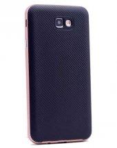 Samsung Galaxy J7 Prime Kılıf Olix İnce Mono Karbon Silikon Kapak -6