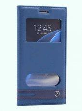 Samsung Galaxy C5 Kılıf Olix Elite Kapaklı...