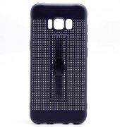 Samsung Galaxy S8 Kılıf Olix Jaguar Standlı Silikon -3
