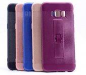 Samsung Galaxy S8 Kılıf Olix Jaguar Standlı Silikon -5