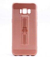 Samsung Galaxy S8 Kılıf Olix Jaguar Standlı Silikon -6