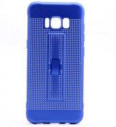 Samsung Galaxy S8 Kılıf Olix Jaguar Standlı Silikon -7