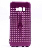 Samsung Galaxy S8 Kılıf Olix Jaguar Standlı Silikon -9