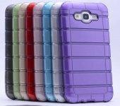 Samsung Galaxy J2 Kılıf Olix Çizgili Motomo Kapak -3