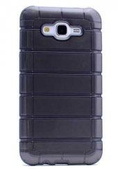 Samsung Galaxy J2 Kılıf Olix Çizgili Motomo Kapak -4