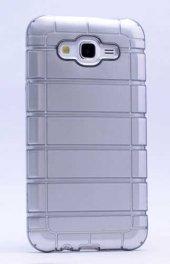 Samsung Galaxy J2 Kılıf Olix Çizgili Motomo Kapak -10