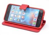 Apple iPhone 5 Kılıf Olix New Delüxe Kapaklı Standlı Kılıf -6