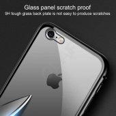 Apple iPhone 7 Kılıf Olix Devrim Mıknatıslı Cam Kapak -4